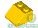 LEGO-Roof-Tile-2x2-45-Degrees-yellow-3039-303924