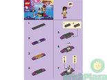 LEGO-Bouwbeschrijving-Friends-Pop-Star-Red-Carpet-30205